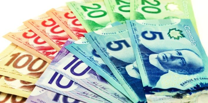 Currency exchange rates in Canada
